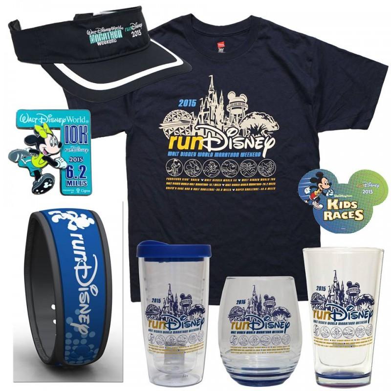 2015 WDW Marathon Weekend Merchandise