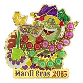 Disney Mardi Gras 2015 Pin