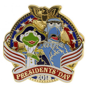 Disney President's Day 2015 Pin