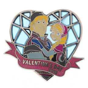 Disney Valentine's Day 2015 Frozen Pin