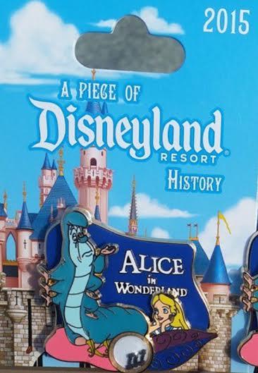 Disneyland Alice PODH Pin