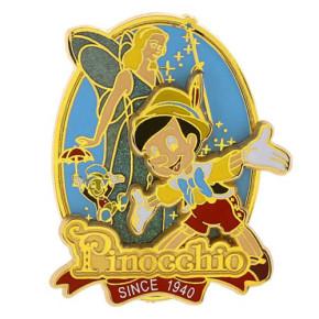 Pinocchio 75th Anniversary Pin