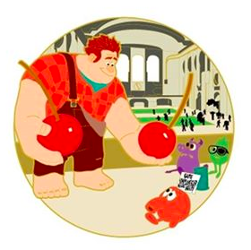 Wreck-It Ralph Beloved Tales Pin - Surprise Pin Release