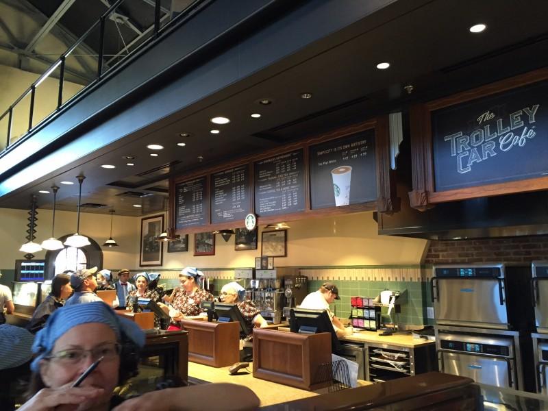 DHS Inside Starbucks