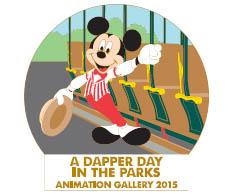 Disney Dapper Day Ink & Paint Pin