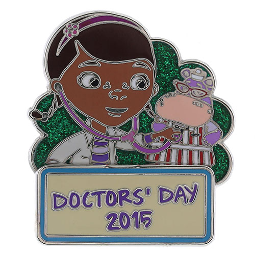 Disney Doctor's Day 2015 Pin