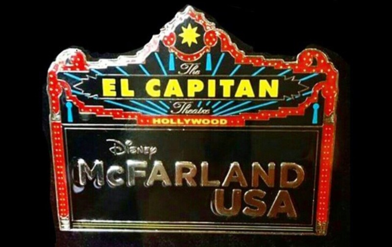 Disney McFarland USA Pin