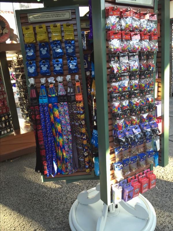 Disney Sunset Ranch Pin Store Lanyards
