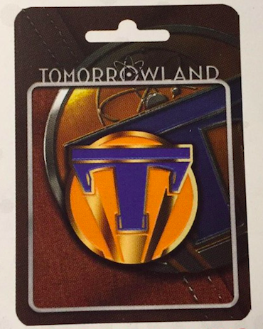 Disney Tomorrowland Pin 1 with pin card