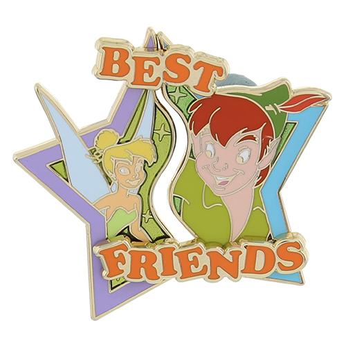 Peter Pan Tinker Bell Best Friends Pin
