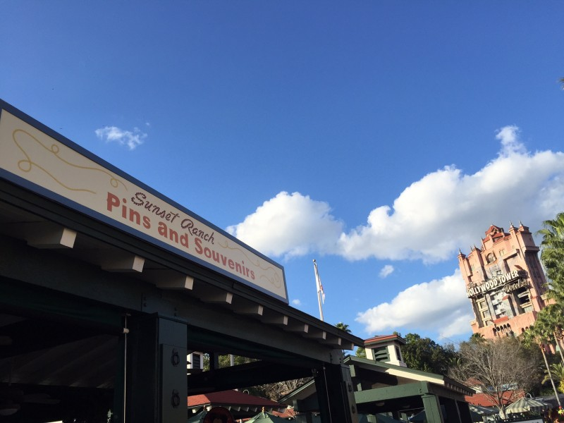 Sunset Ranch Disney Pin Store