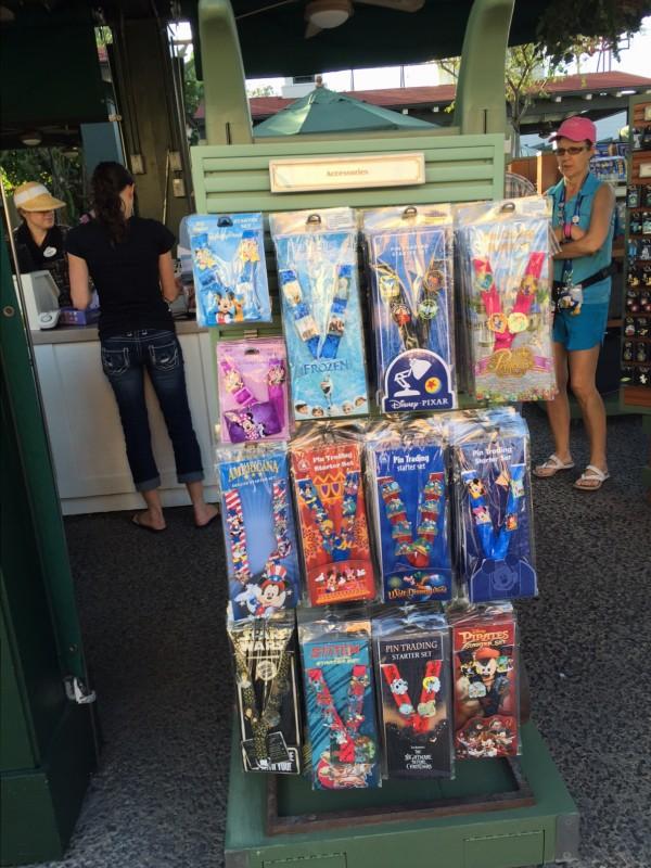 Sunset Ranch Disney Pin Store Starter Sets