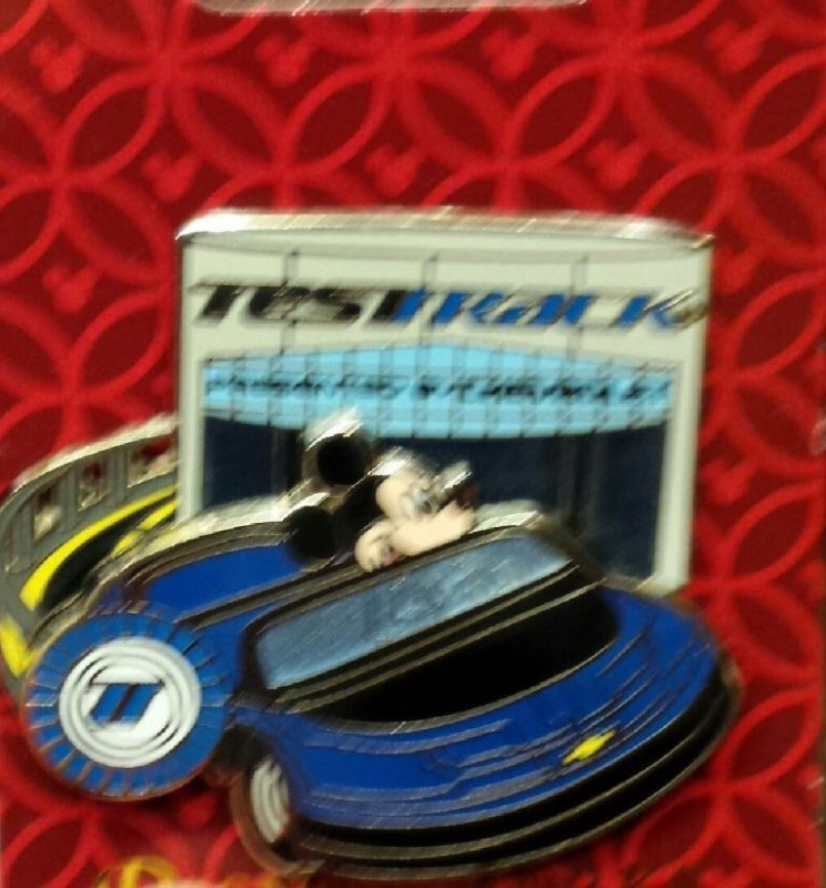 Test Track Disney Pin