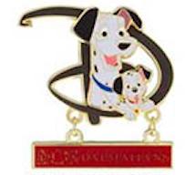 101 Dalmatians GenEARation D Pin