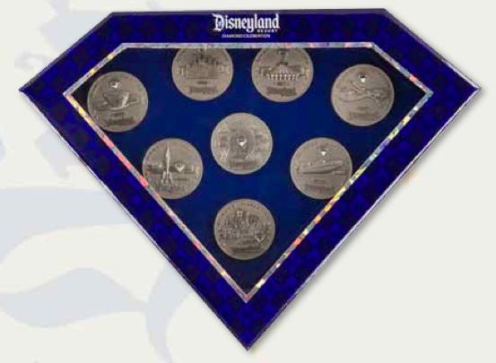 Boxed Coin Pin Set