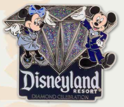 DLR 60th Stained Glass Sleeping Beauty Castle Pin