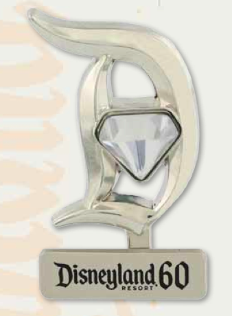 DLR 60th Standee D Pin