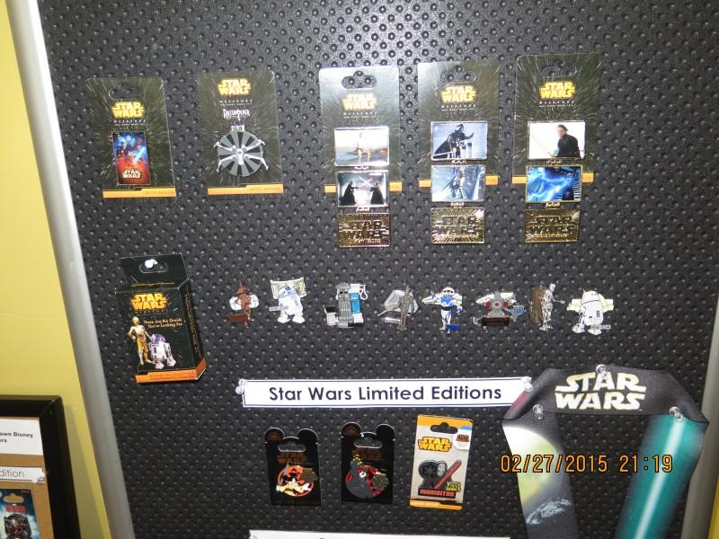 Disney Star Wars Pins 2015