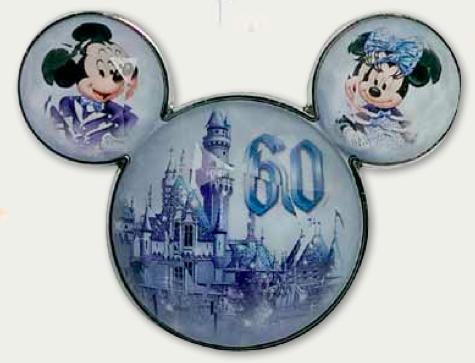 Disney Stone Character Head Pin