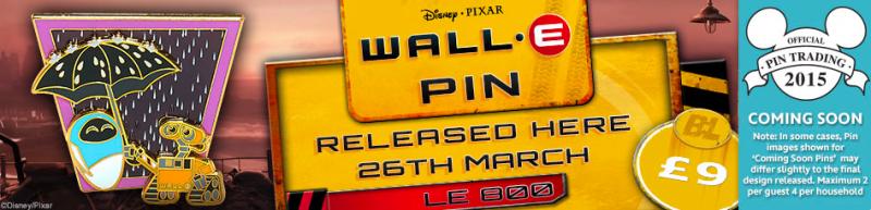 Disney Store UK WALL-E Pin