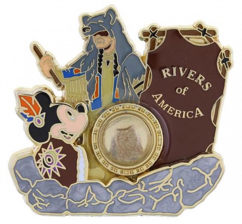 Disneyland Rivers of America Pin