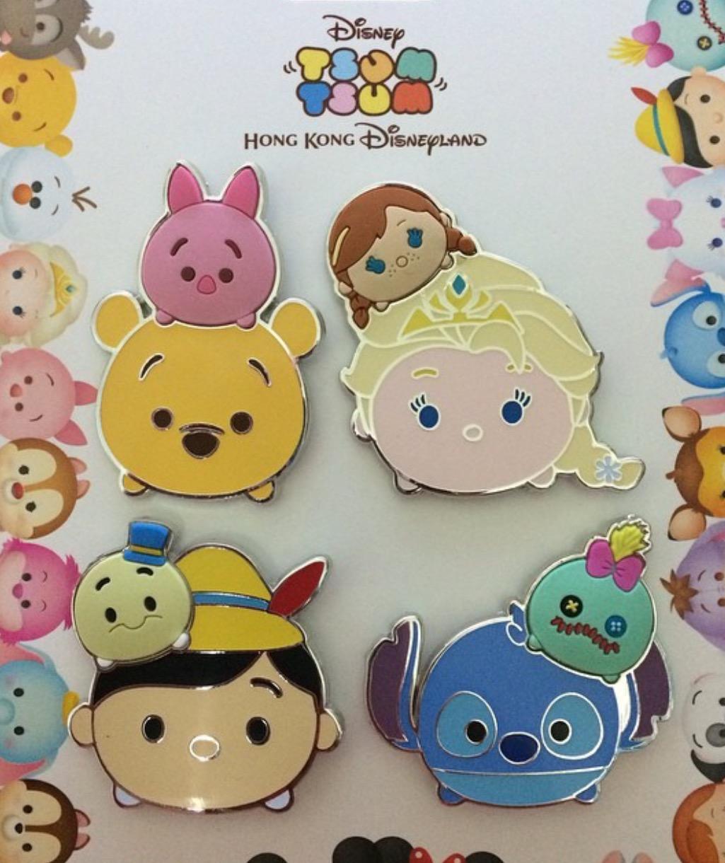 Buy Wall Stickers Online New Hkdr Tsum Tsum Pins Disney Pins Blog
