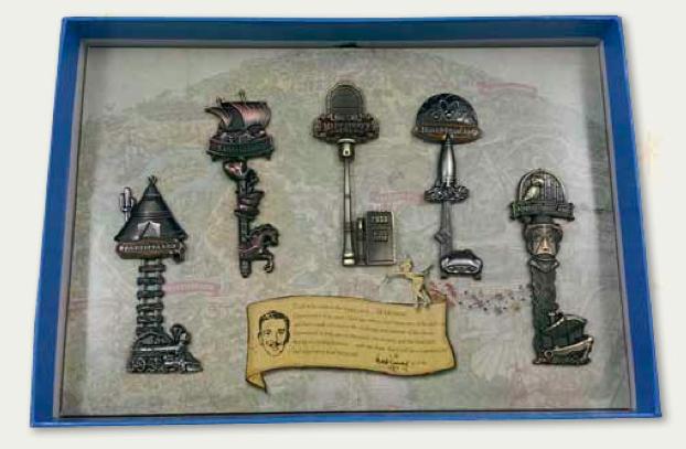 Keys to the Kingdom Boxed Pin Set