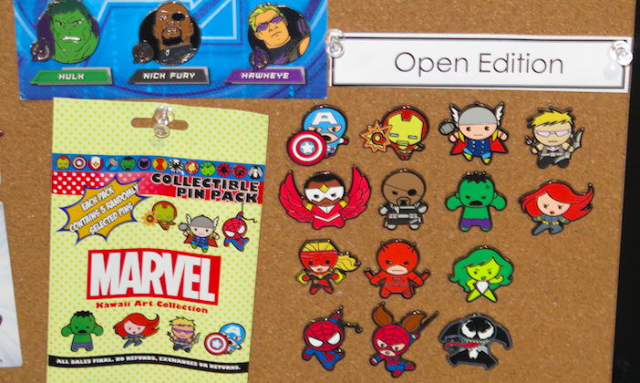 Marvel Disney Pin Pack 2015
