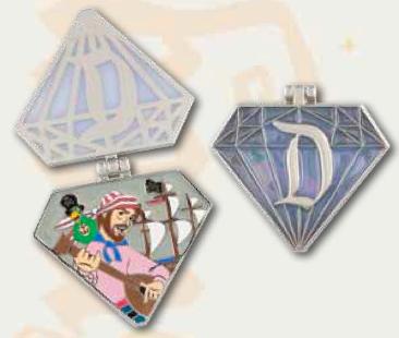 Pirates of the Caribbean Diamond Pin