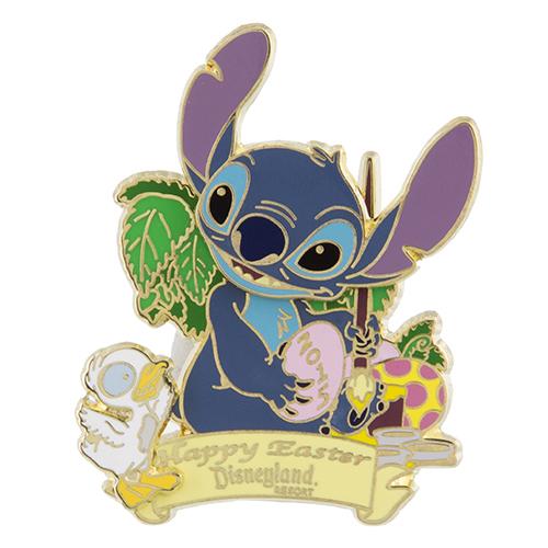 Stitch Disneyland Easter 2015 Pin