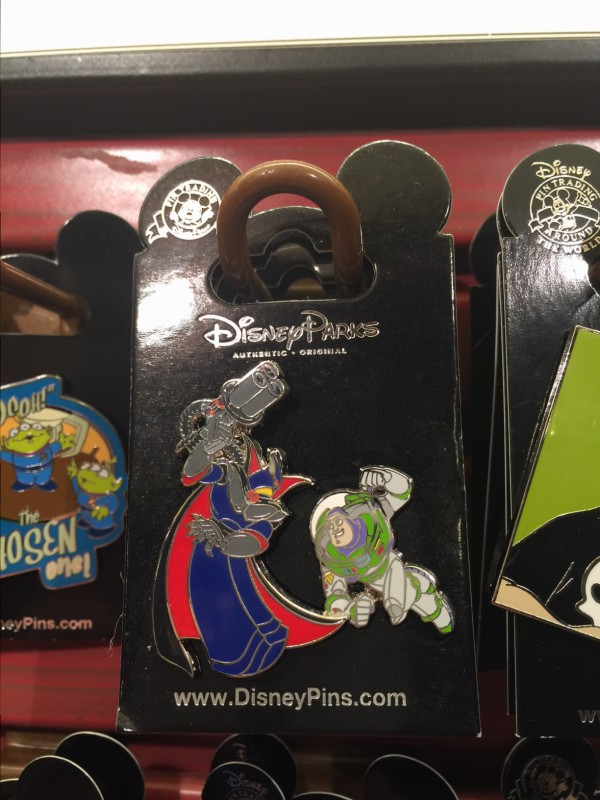 Toy Story Zurg Open Edition Pin 2015