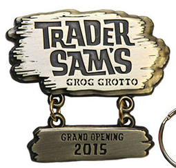 Trader Sam's Grand Opening Disney Pin