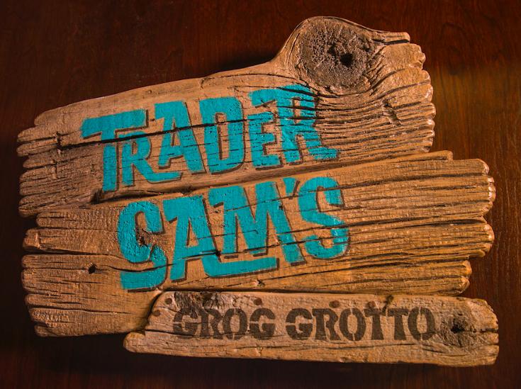 Trader Sam's Grog Grotto Logo