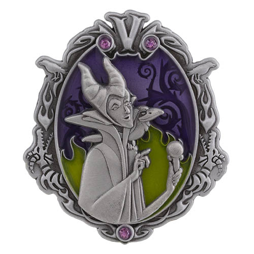 Wonderfully Wicked Maleficent Pin
