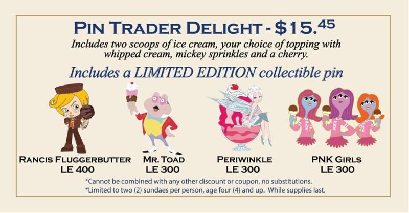DSSH April 7, 2015 Pin Trader Delight Pins
